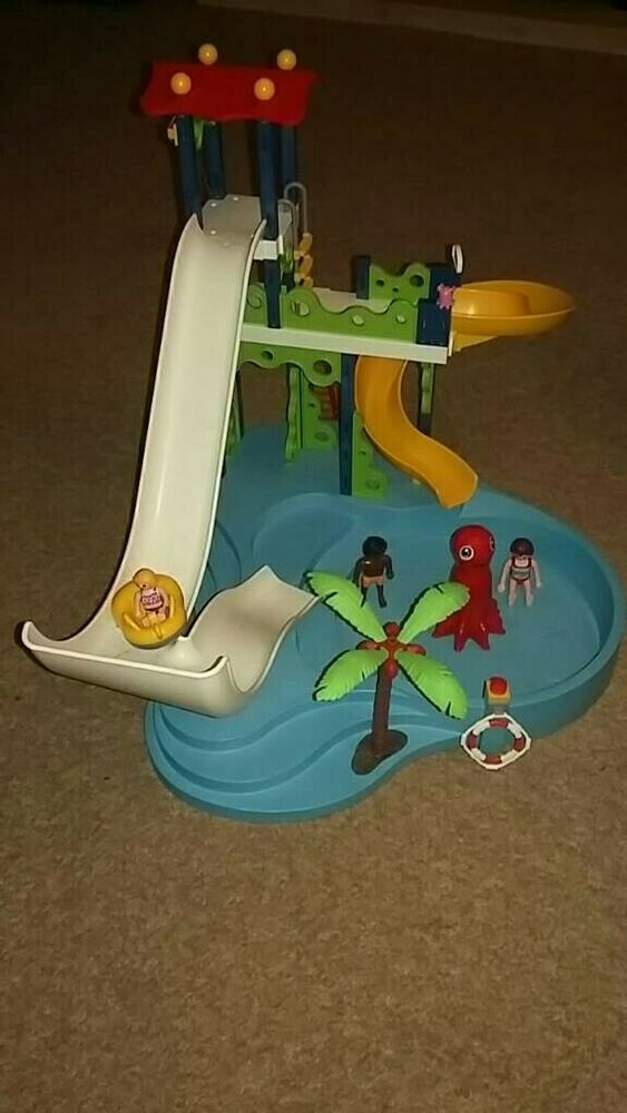 PLAYMOBIL  Summer Fun Water Park with Slides