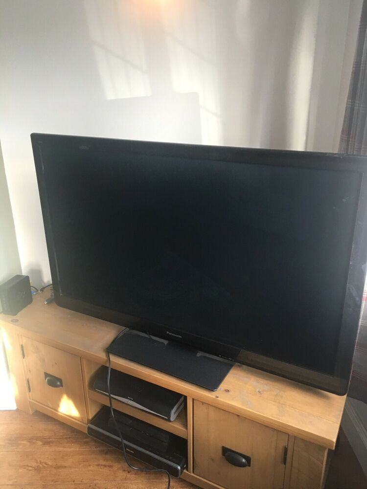 "Panasonic Viera tv TX- P50ST30B 3D Plasma Tv 50"" -"