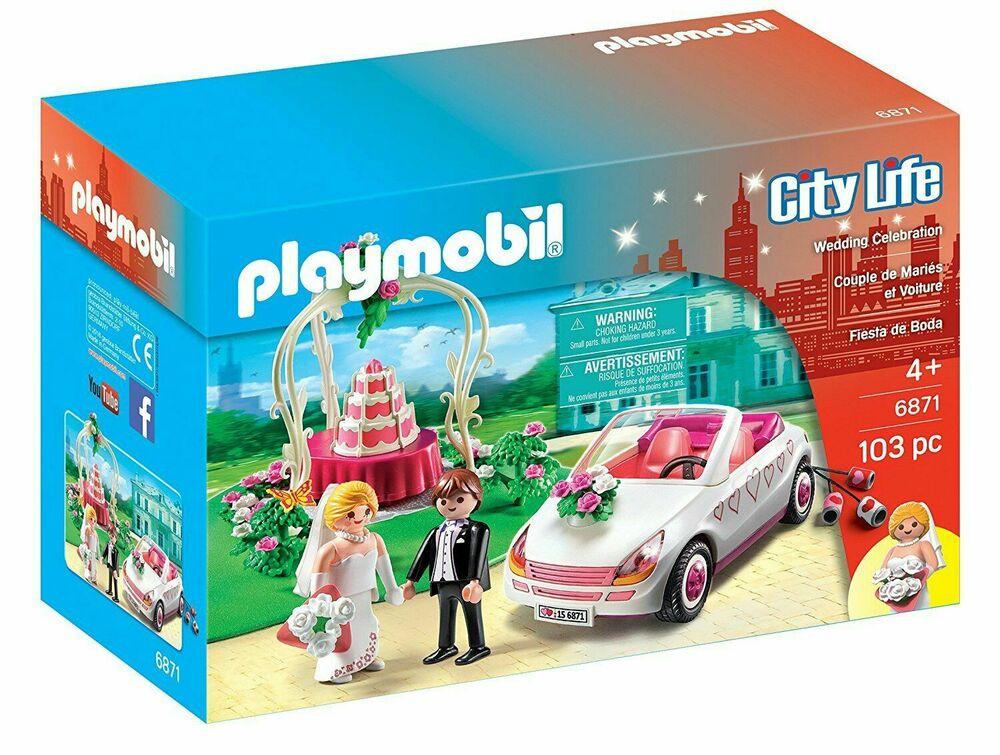 Playmobil City Life  Wedding Celebration Starter Kit.