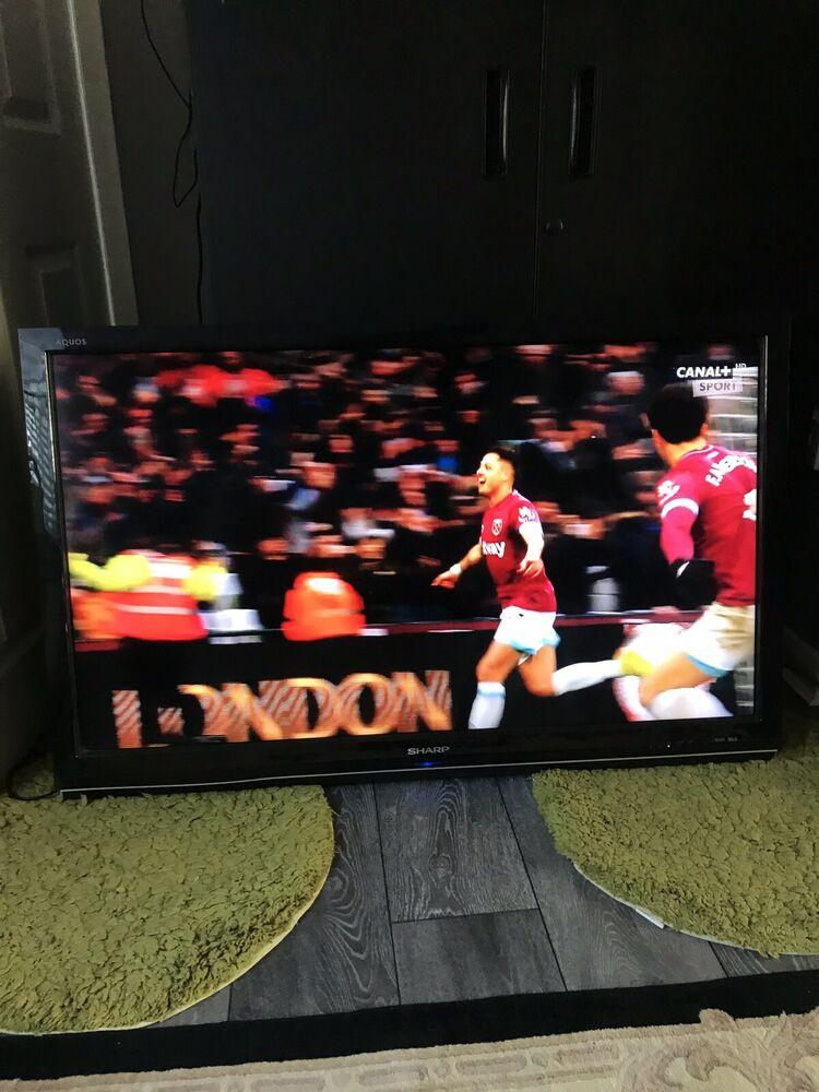 SHARP AQUAS LC46XL2E p HD LCD TELEVISION