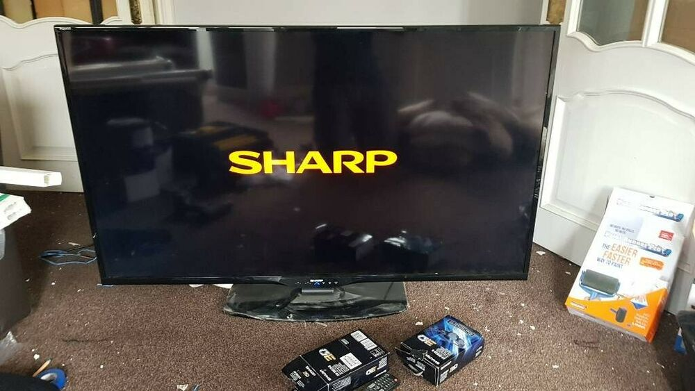 "Sharp AQUOS K 60"" 3D-Ready p HD LED Internet TV, 4x 3d"