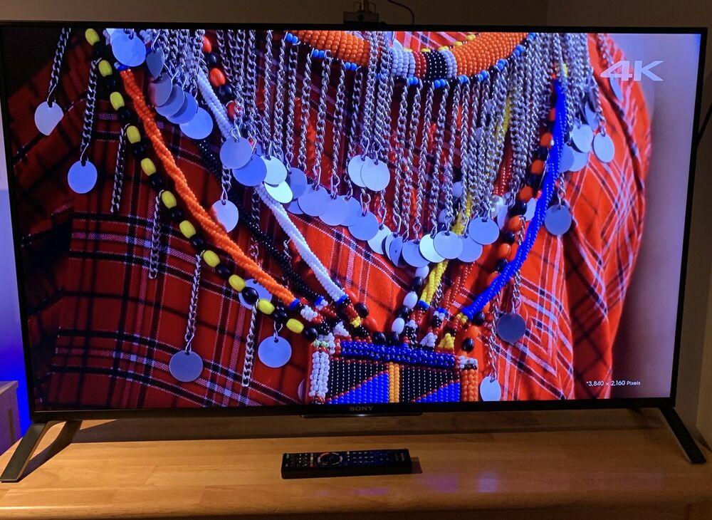 Sony BRAVIA KD49XB 49 inch 4K Ultra HD 3D LED Smart TV