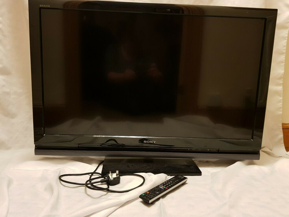Sony Bravia KDL40V in. TV with stand and remote