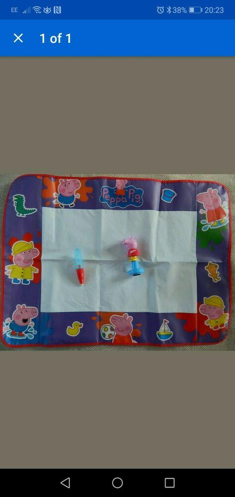 TOMY  Peppa Pig Aquadoodle Water Drawing Large Mat