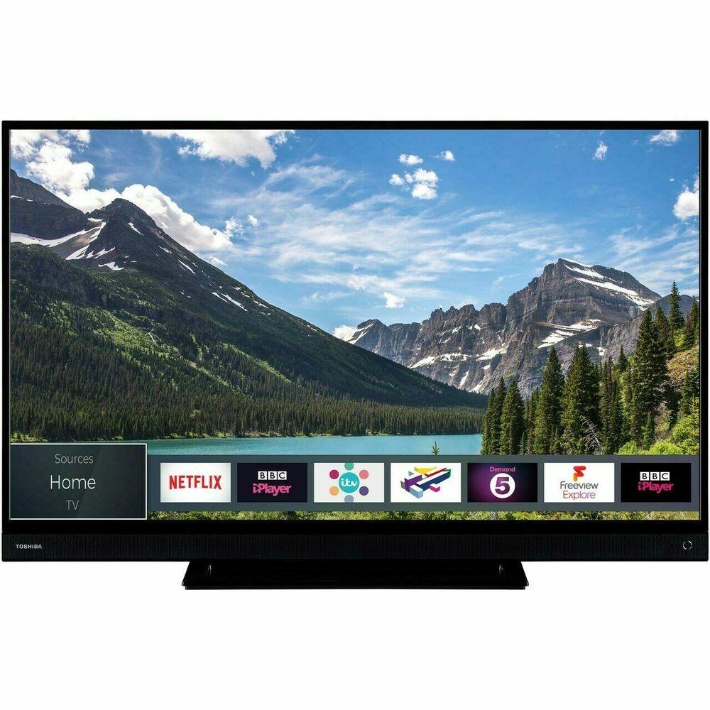 Toshiba 55B inch 4K UHD HDR Smart LED TV - Black