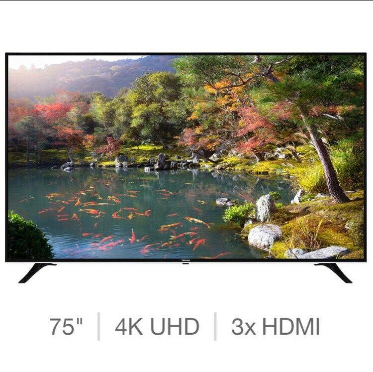 "Toshiba 75UDB 75"" 4K UHD LED LCD ULTRA HD TV SMART"