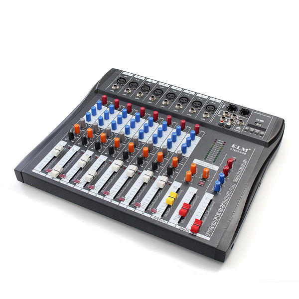 8 Channel Audio Mixer Brand New