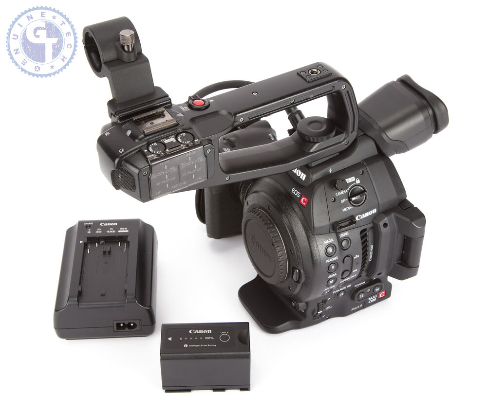 Canon EOS C100 Mark II Cinema Camera with Dual Pixel CMOS AF