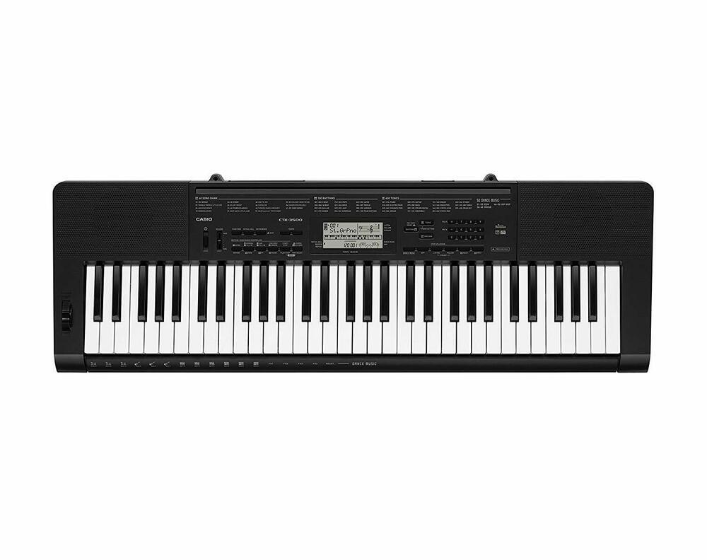 Casio CTK-AD Full Size Keyboard - Black