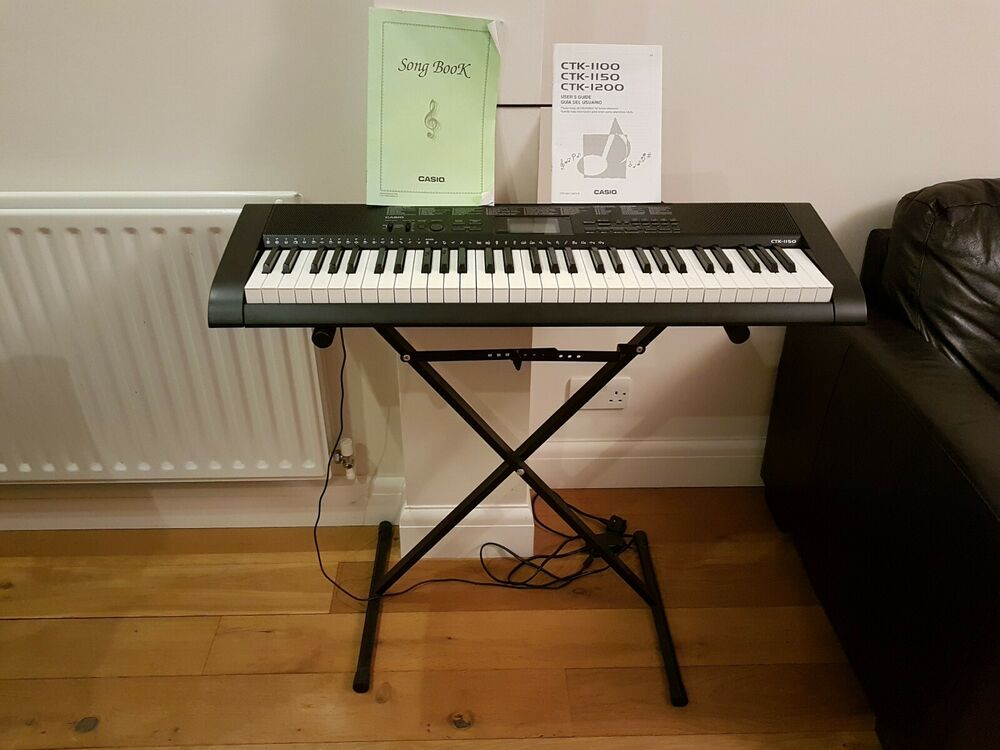 Casio CTK- Full Size Keyboard with stand