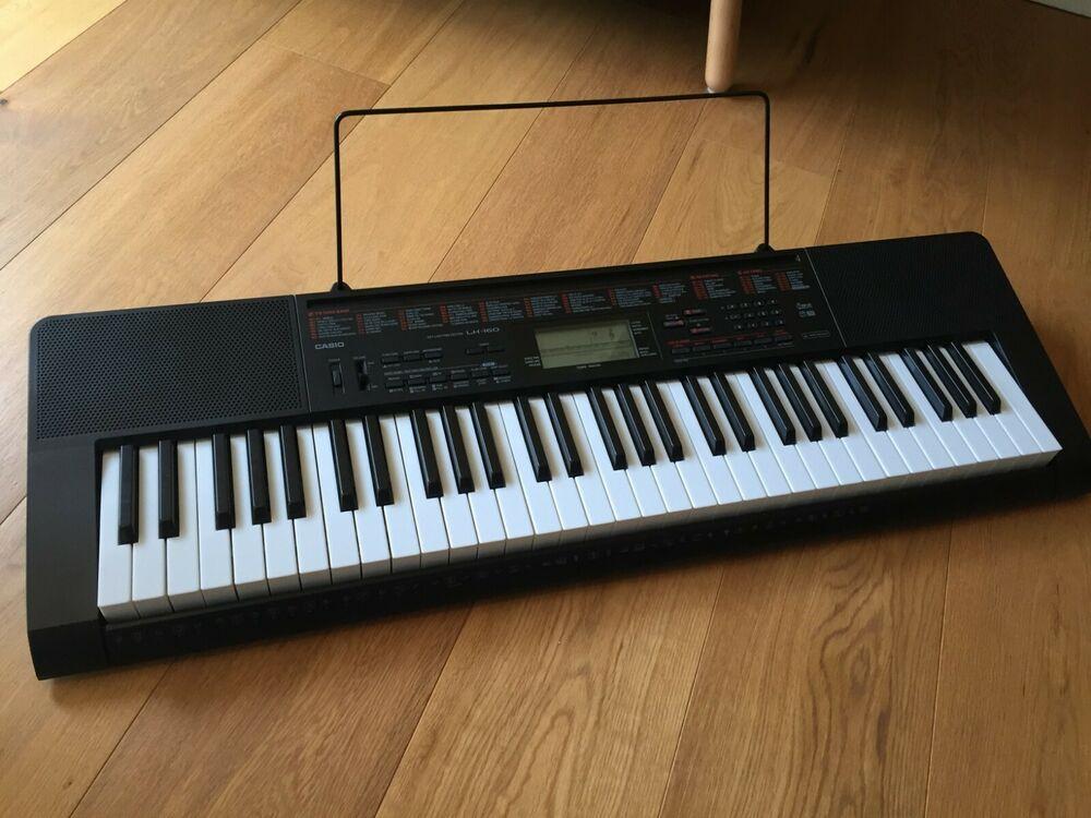 Casio LK-160 Lighting up Keyboard 61 Keys - Pristine
