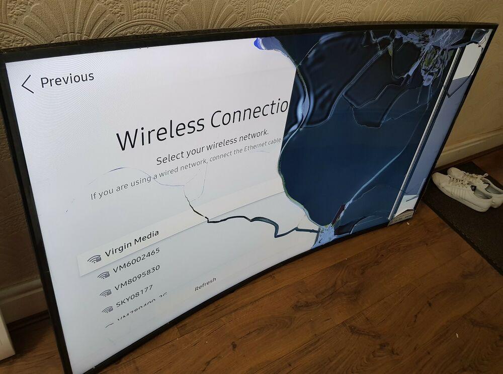 Samsung UE65MU inch Smart 4K Ultra HD HDR Curved TV