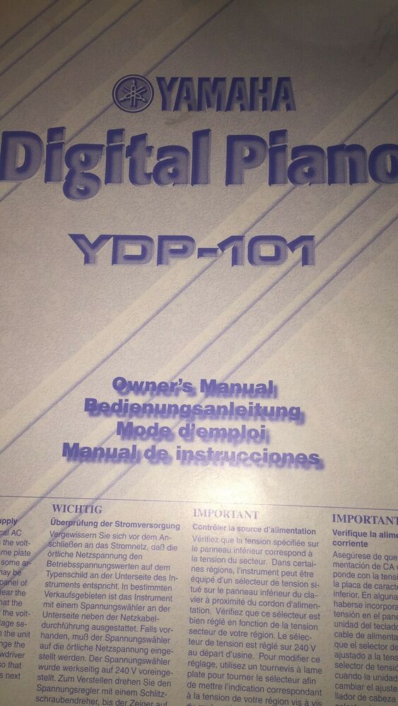 Yamaha YDP -101 Digital Piano in Rosewood
