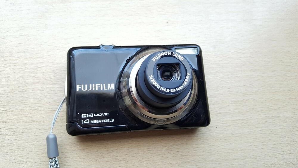 14MP Fujifilm FinePix JV Series JV500 Digital Camera - Black