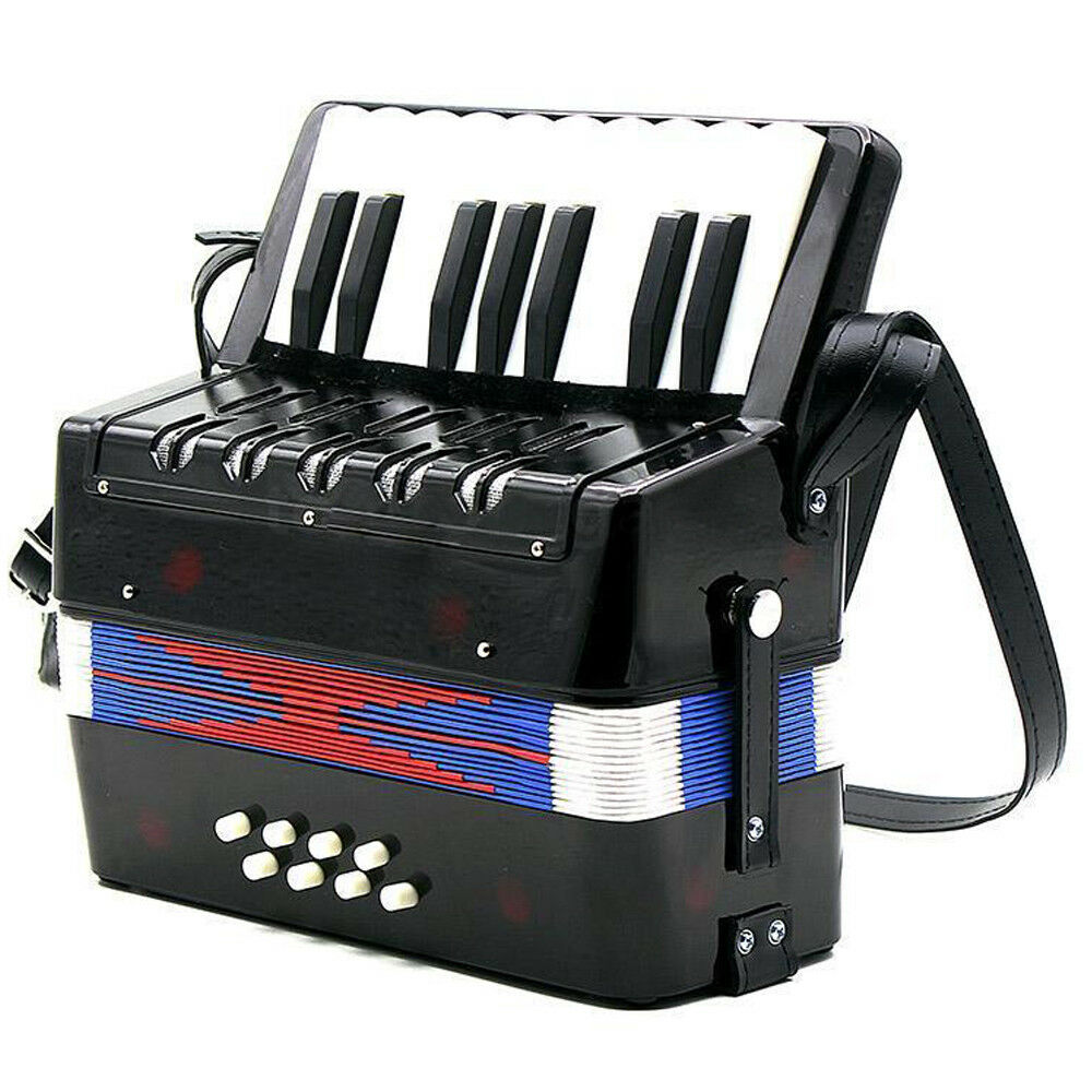 17-Key 8 Bass Mini Accordion Musical Toy for Kids X3X1 A5T3