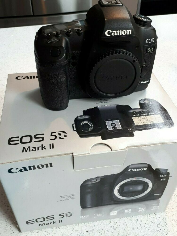 Canon 5D Mark II 21.1MP Digital SLR Camera