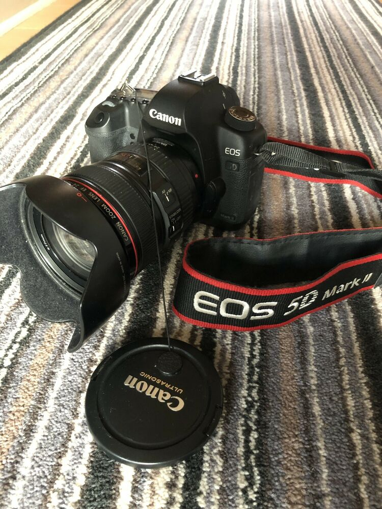 Canon 5d Mark ii With Canon Ef mm F4 L Lens Lens Hood,
