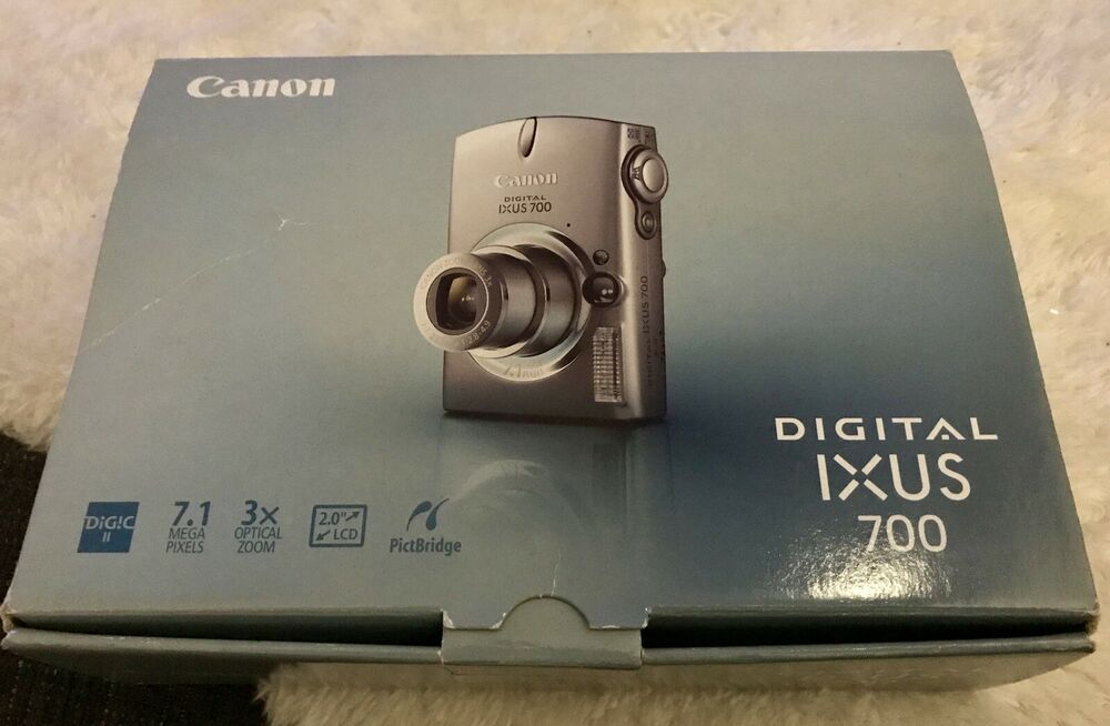 Canon Digital Ixus MP Camera - Very Good Condition -