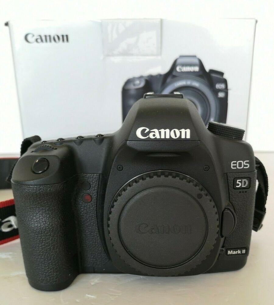 Canon EOS 5D Mark II 21.1MP Digital SLR Camera - Body /