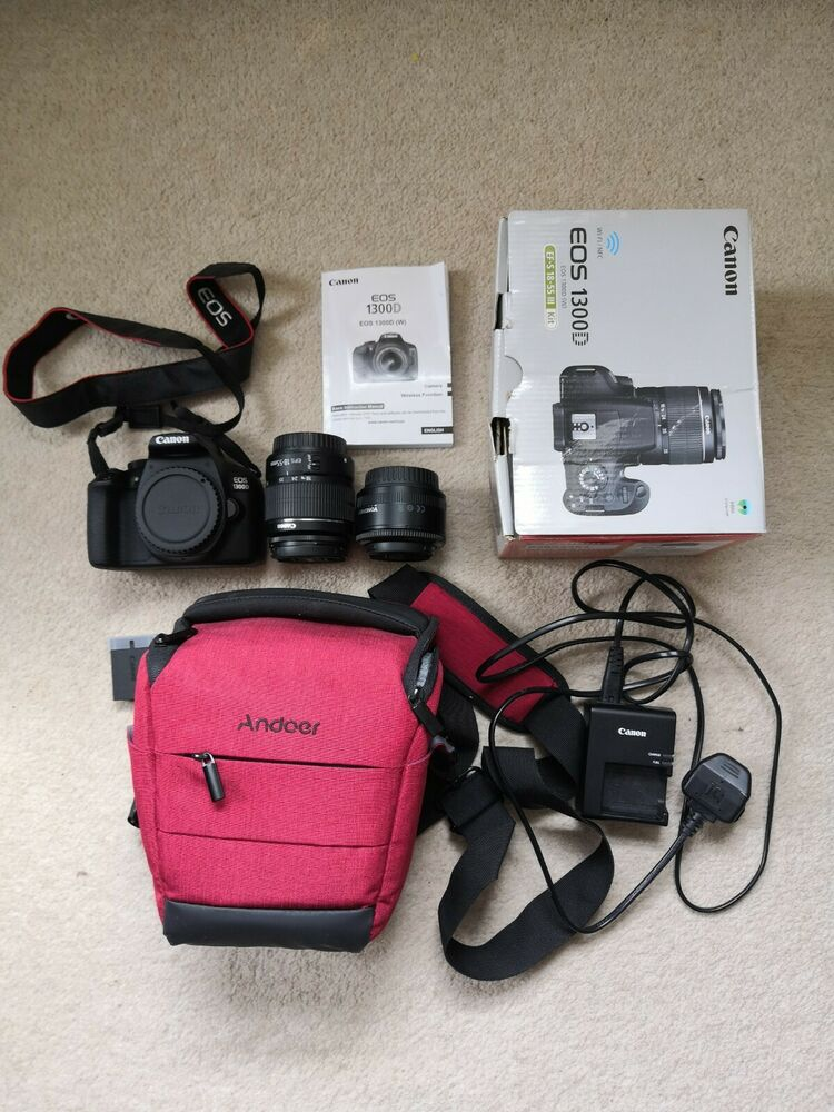 Canon EOS D 18.0MP Digital SLR Camera with Lens kit and