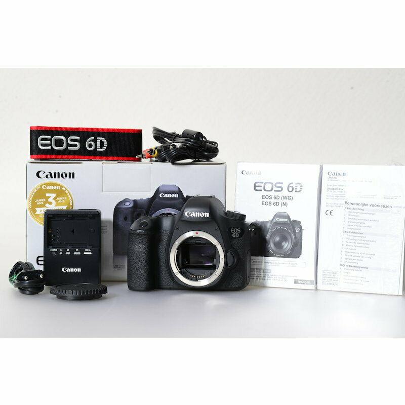 Canon Eos 6d Camera/20,2 Mp SLR Digital Camera with