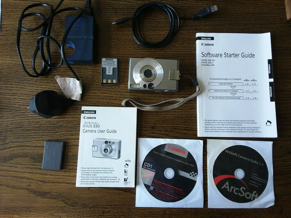 Canon IXUS 330 / PowerShot Digital ELPH S MP Digital