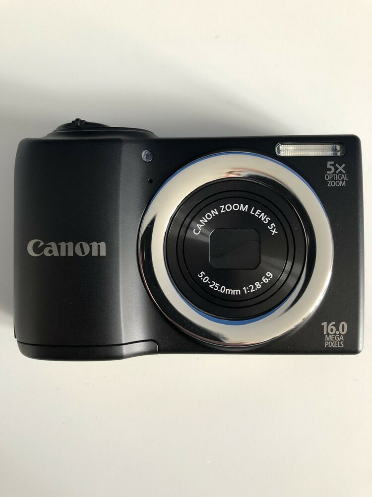 Canon PowerShot AMP Digital Camera - Black - Mint