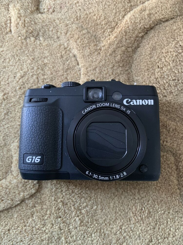 Canon PowerShot GMP Digital Camera - Black