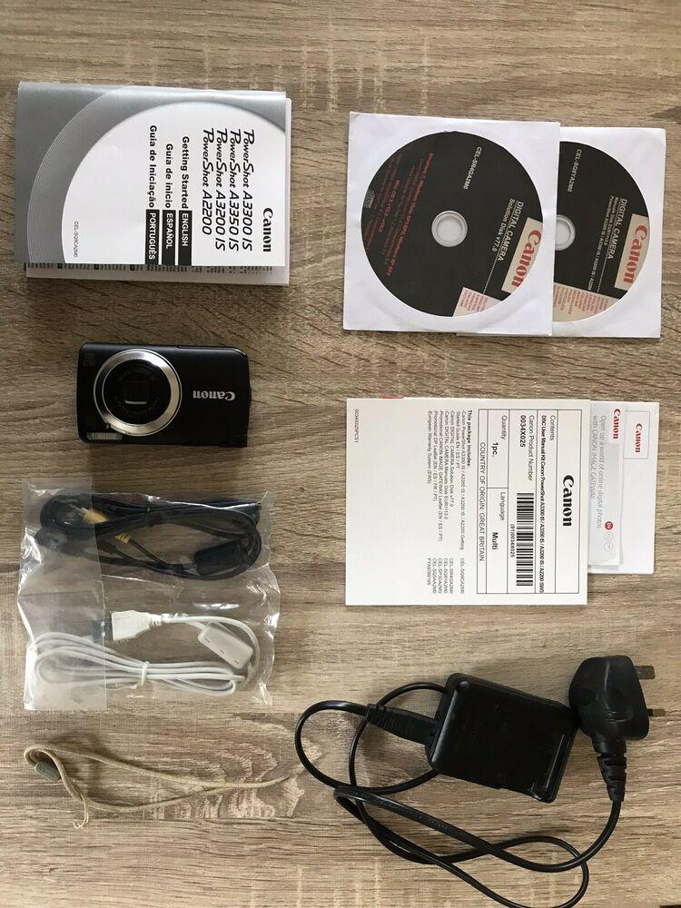 Canon Powershot A IS Digital Camera, 16 Mega Pixels