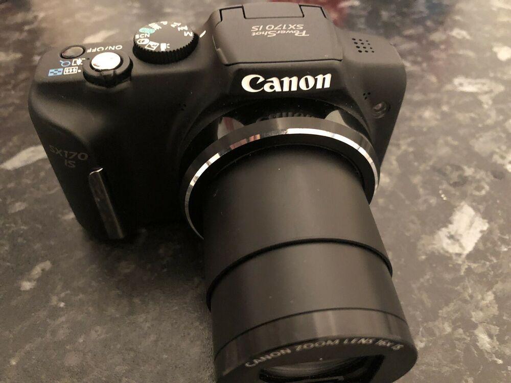 Canon Powershot SX170 IS (16 multiplier) Digital Camera