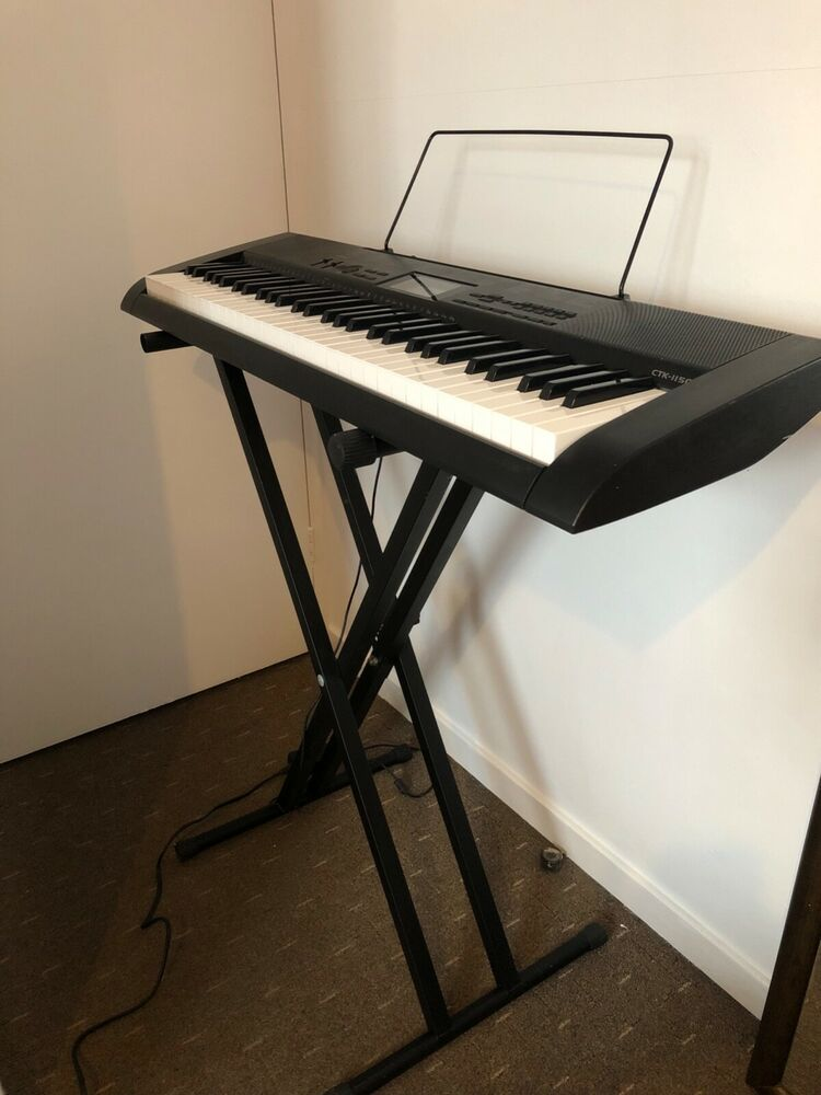 Casio CTK- Full Size Starter Keyboard - 61 Keys, with