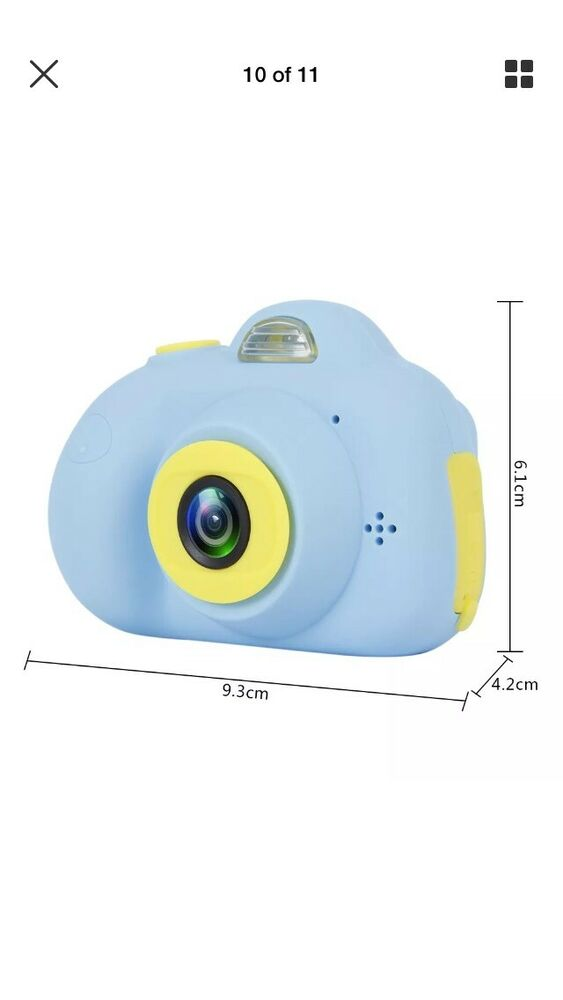 Children Kids Digital Cartoon Camera Dual Sens 8MP P HD