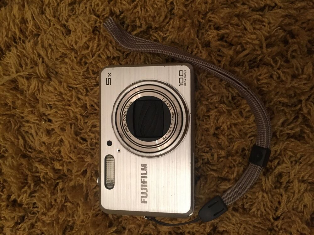 Fujifilm FinePix J Megapixel Digital Camera - Silver