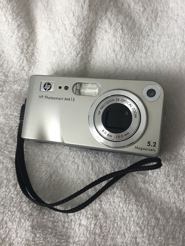 HP Photosmart M Megapixels Digital Camera Silver