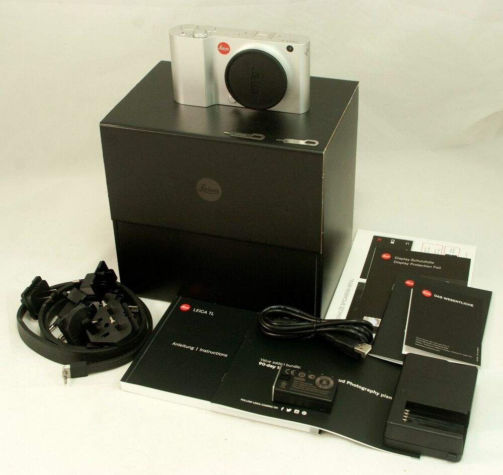 Leica TL 16.3MP Type  Digital Camera - Boxed, complete -