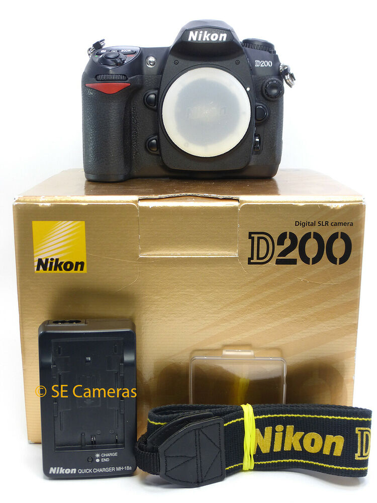 NIKON D200 DSLR CAMERA BODY ONLY FULLY TESTED WORKING low