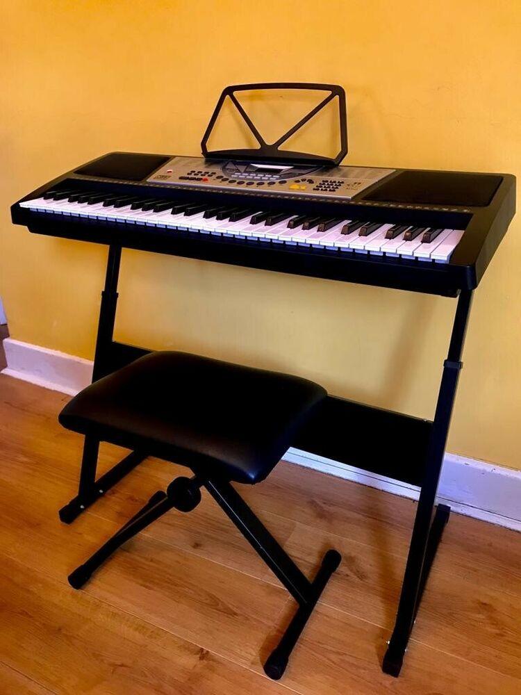 NJS Key Digital Electronic Piano Keyboard Kit +