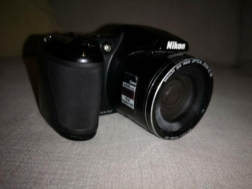 Nikon COOLPIX LMP Digital Camera - Black (no lense