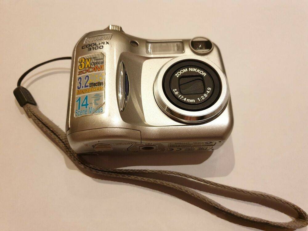 Nikon COOLPIX MP Digital Camera - Silver