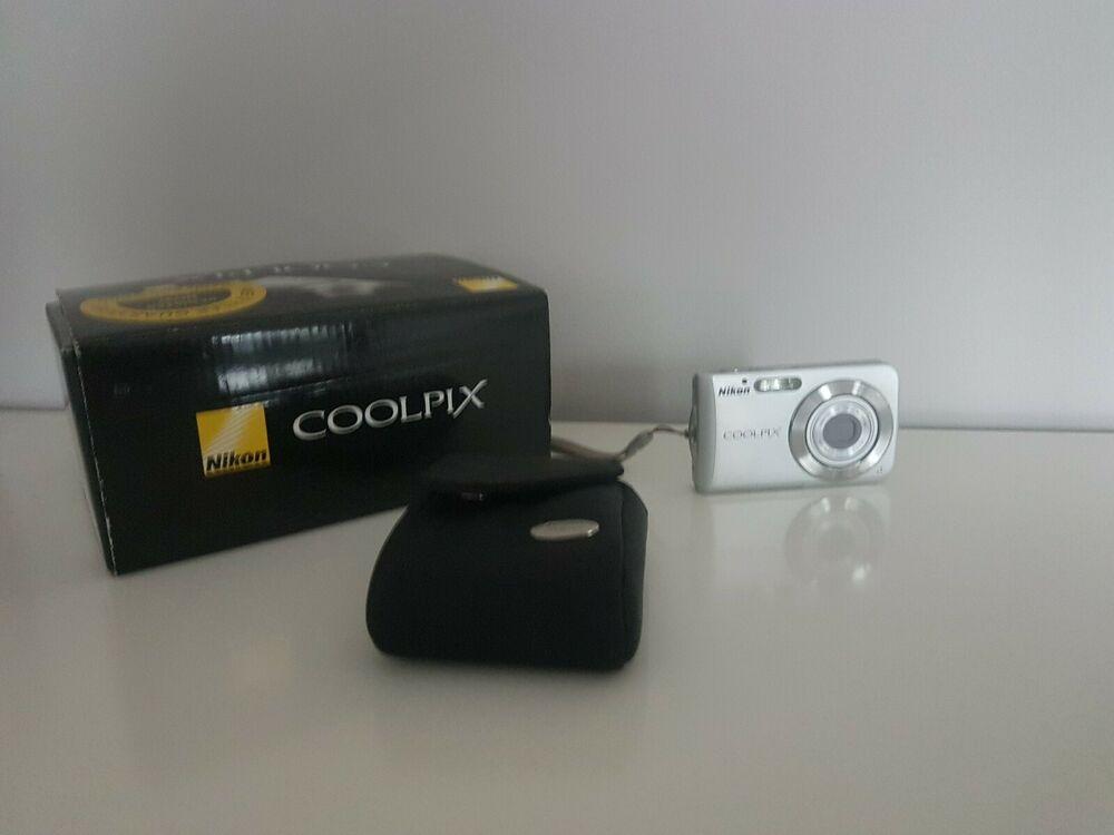 Nikon COOLPIX SMP Digital Camera - Bright silver