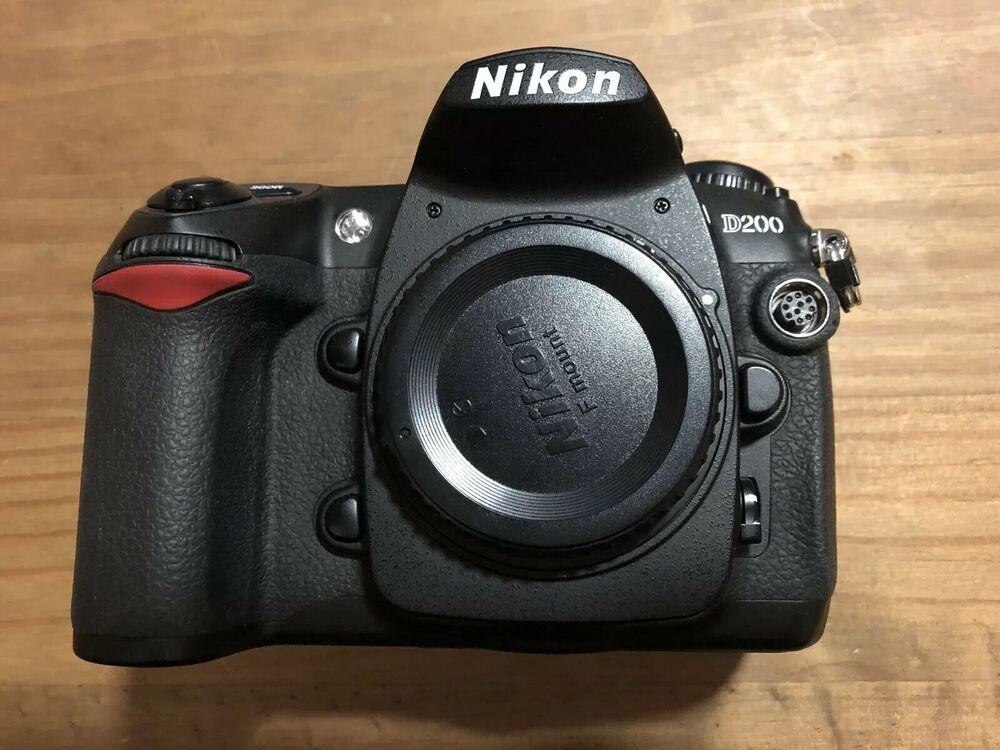 Nikon D200 DSLR Digital Camera Body Only - Spares / Parts /
