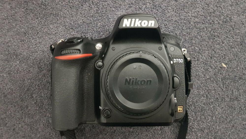 Nikon D750 Camera Body Only Recent Nikon Service CASH