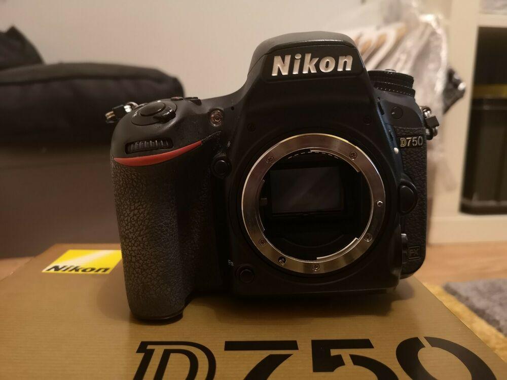 Nikon D750 Digital SLR Camera Body Only