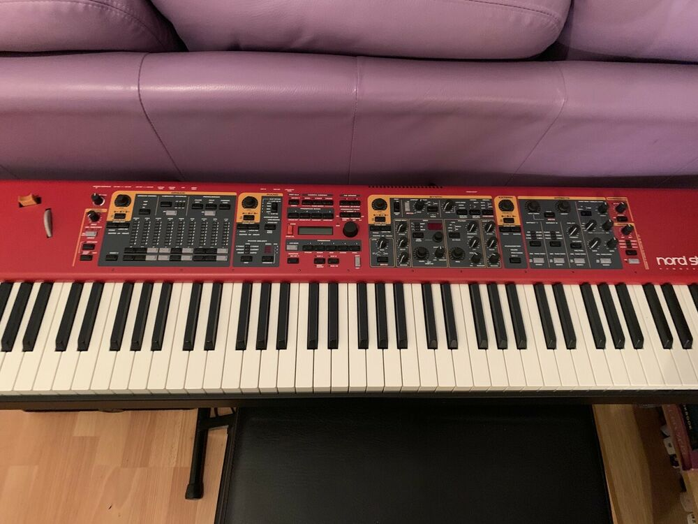 Nord Stage 2 EX 88 Weighted Keys Keyboard / Electric Piano -