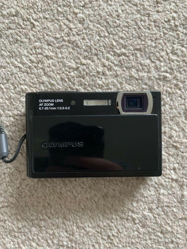 Olympus Stylus MP Black Digital Camera