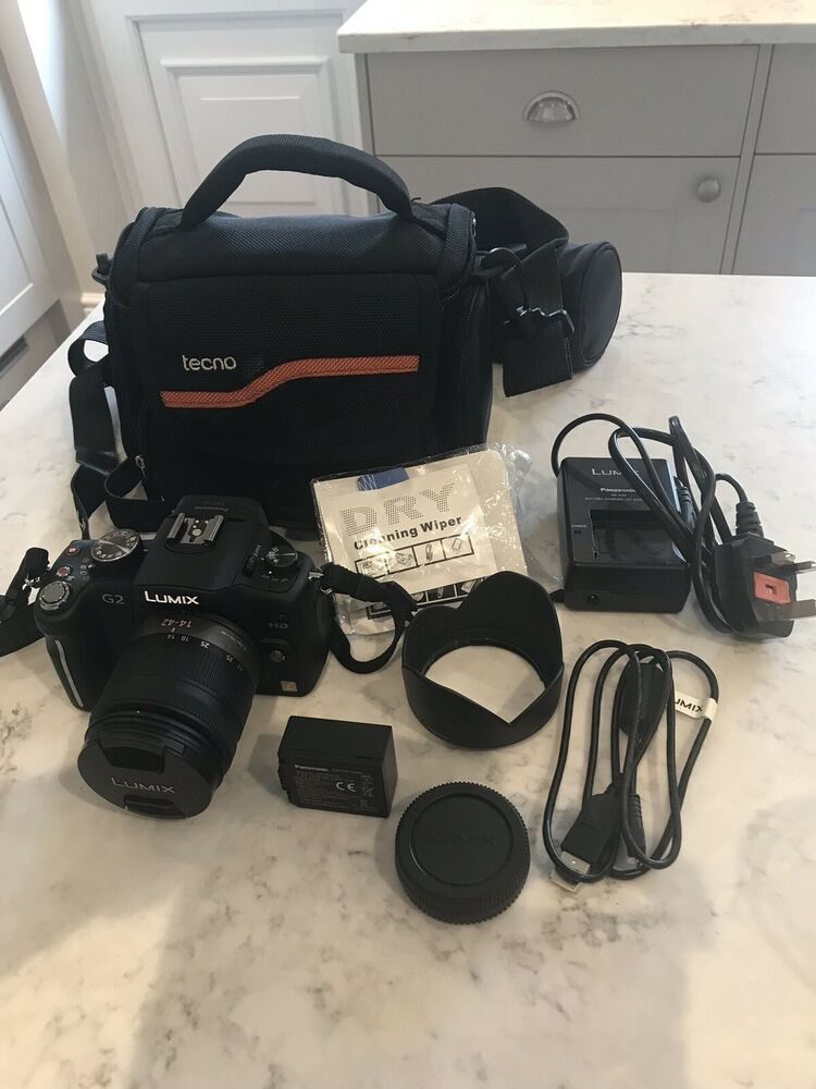 Panasonic LUMIX DMC-G2K 12.1MP Digital Camera - Black (Kit
