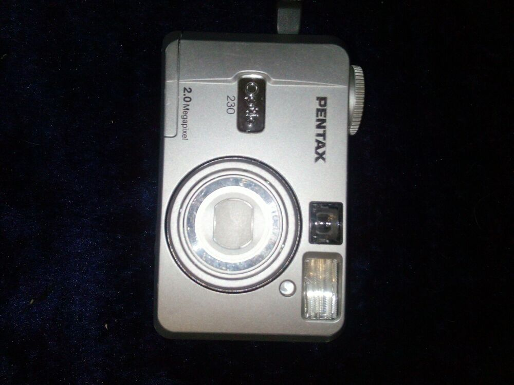 Pentax Optio MP Digital Camera - Silver