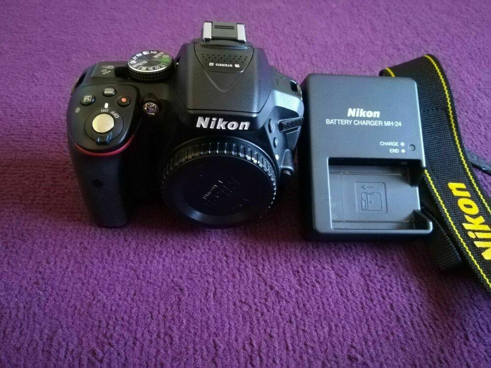 Pristine* Shutter count*Nikon D Digital SLR Camera