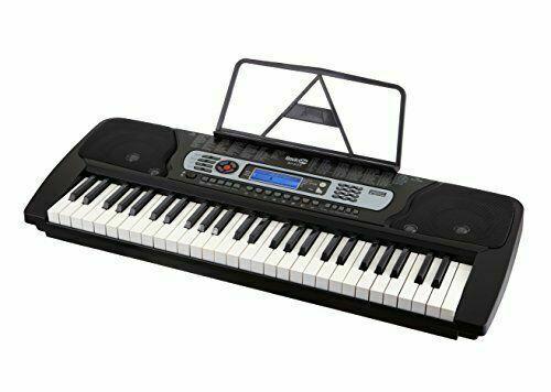RockJam 54-Key Portable Digital Piano Keyboard with Music