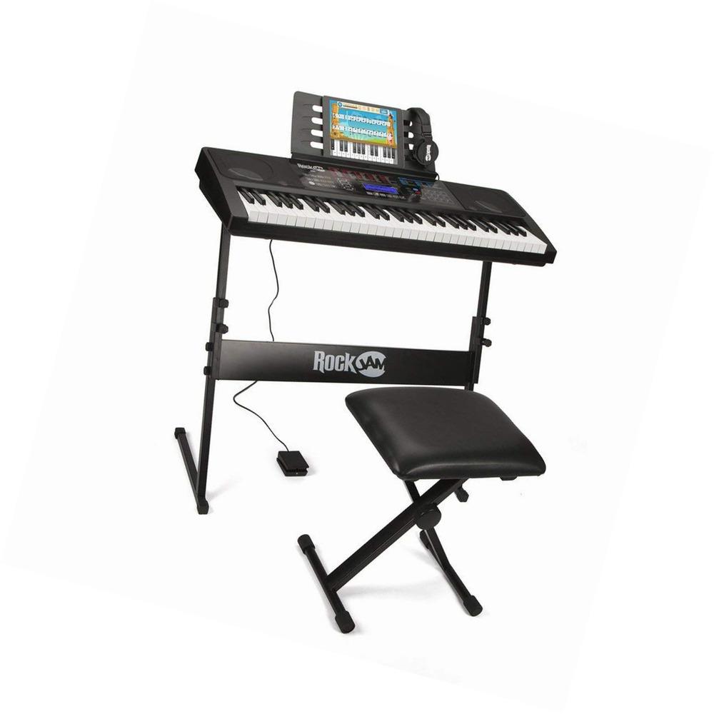 RockJam RJ761-SK Key Electronic Interactive Teaching Piano
